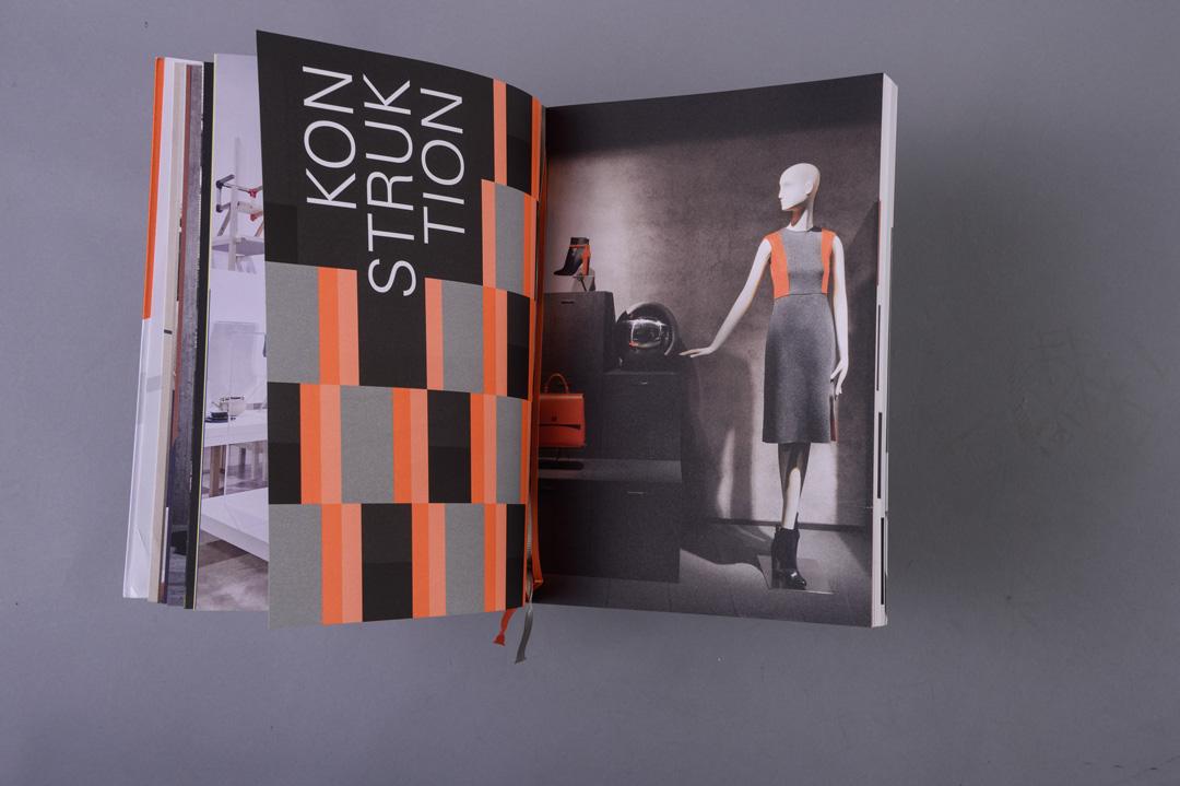HUGO BOSS Geschäftsbericht 2016 paperkate, Innenseite Konstruktion