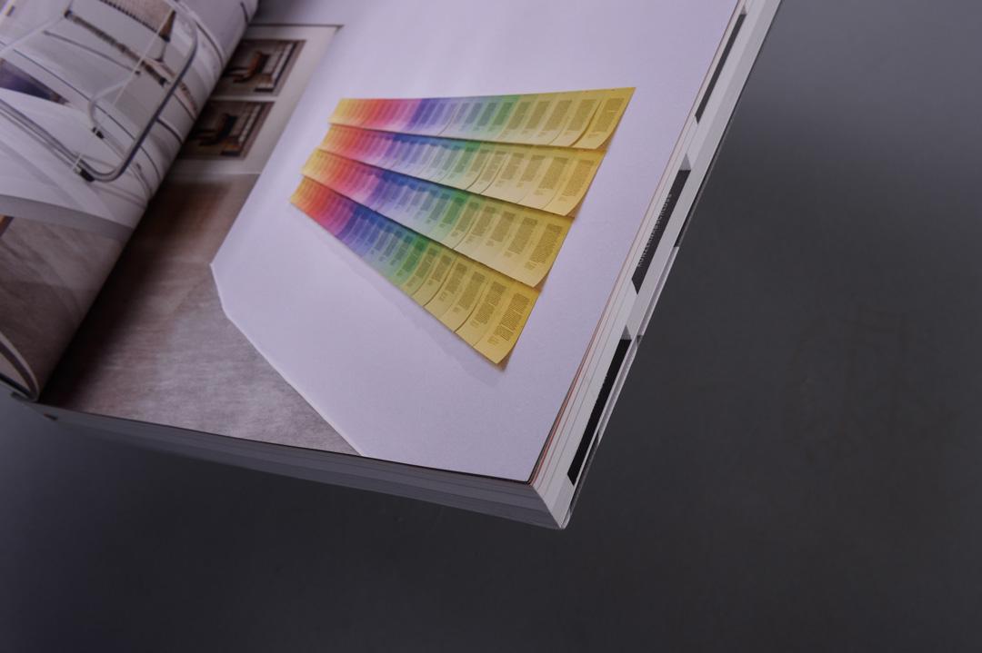HUGO BOSS Geschäftsbericht 2016 paperkate, Innenseite Atelier