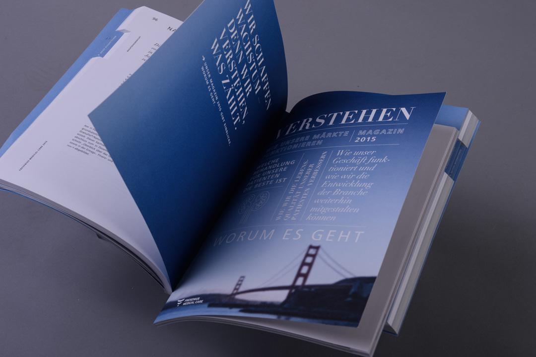 Fresenius Medical Care Magazin im Bericht