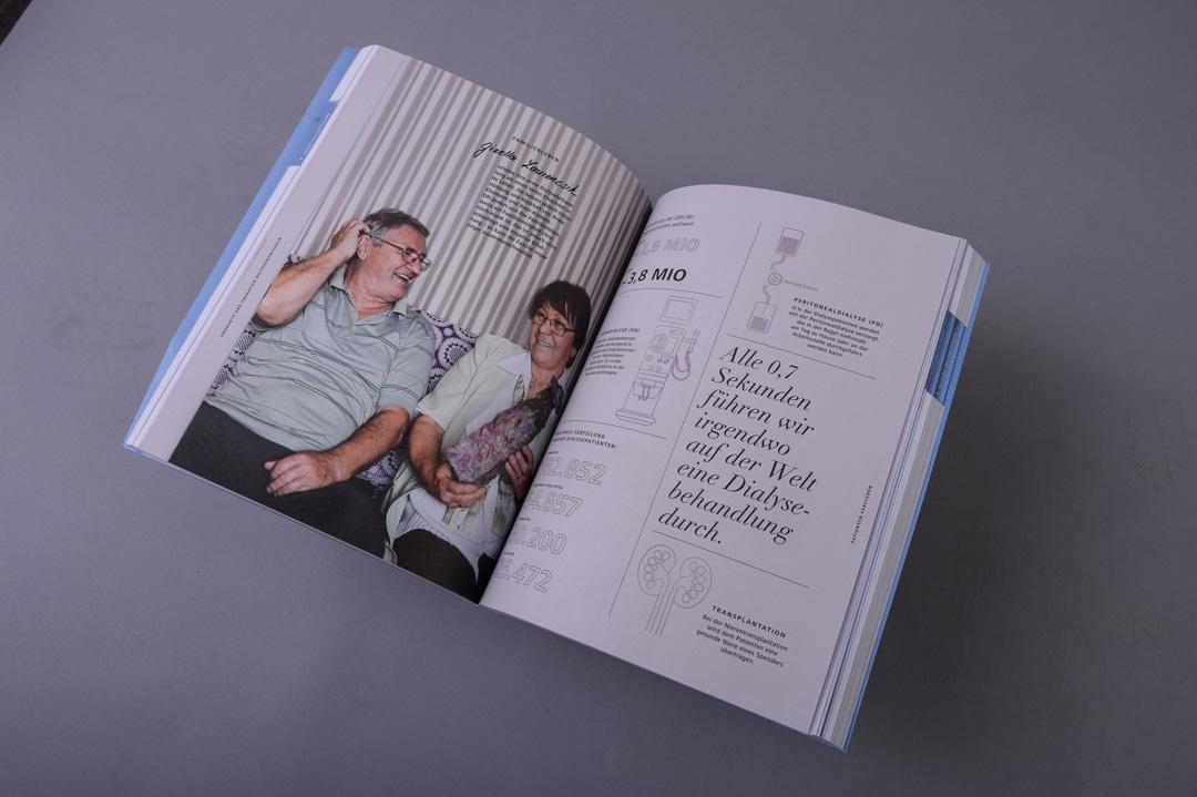Fresenius Medical Care Doppelseite Magazin