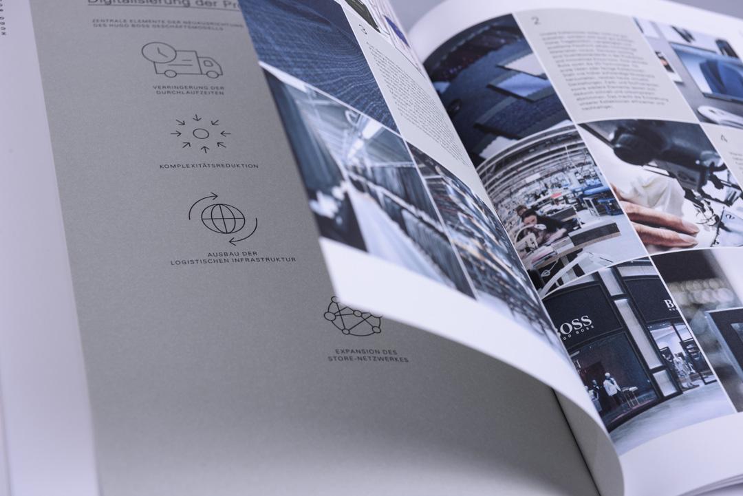HUGO BOSS Konzernprofil Grafik und Bild