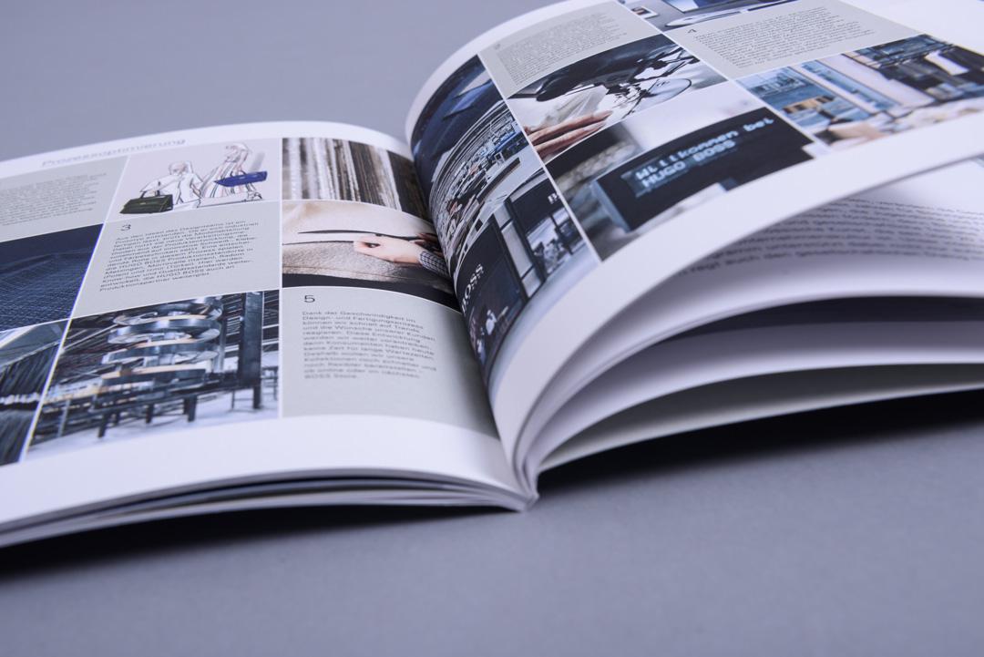 HUGO BOSS Konzernprofil Inhaltsseiten im Detail